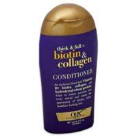 OGX® .3 oz. Biotin and Collagen Conditioner