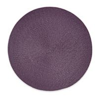 Round Placemat in Purple