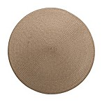 Round Placemat in Tan