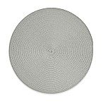 Round Placemat in Silver