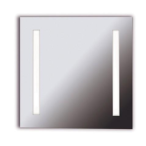 kenroy home 26 inch x 26 inch rifletta vanity mirror with lights bed bath beyond. Black Bedroom Furniture Sets. Home Design Ideas