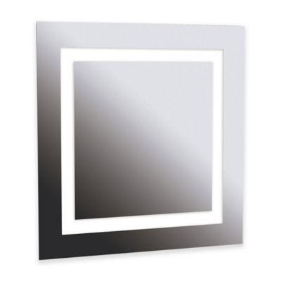 Kenroy Home 28 Inch x 28 Inch Rifletta Vanity Mirror with Lights. Buy Vanity Mirror with Lights from Bed Bath  amp  Beyond