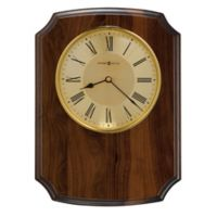 Howard Miller Honor Time Herald Wall Clock in Brushed Brass