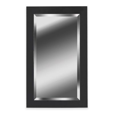 Buy black mirrors from bed bath beyond for Mirror 40 x 60