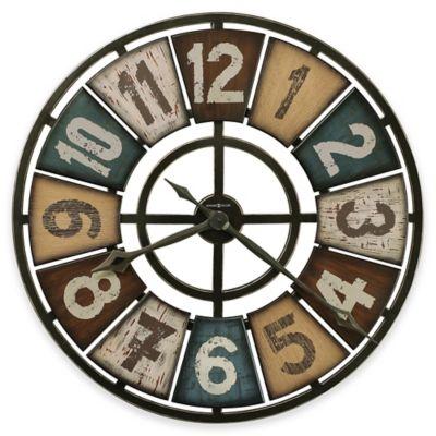 Howard Miller® Prairie Ridge Round Wall Clock