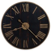 Howard Miller Murray Grove Wall Clock in Black