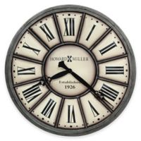 Howard Miller Company Time II Wall Clock in Antique Nickel