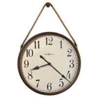Howard Miller Bota Wall Clock in Aged Umber