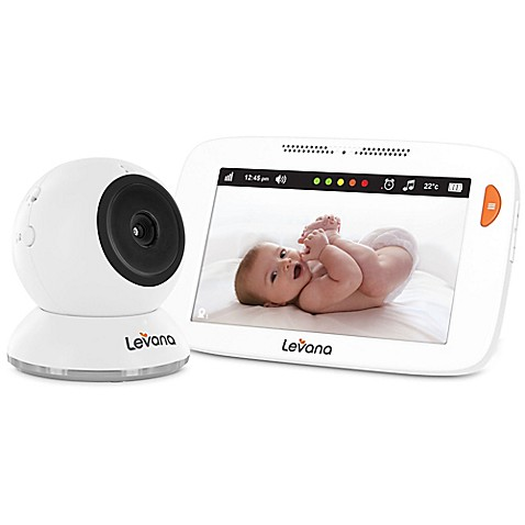 levana shiloh 32200 5 inch hd touchscreen baby video monitor bed bath am. Black Bedroom Furniture Sets. Home Design Ideas