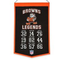NFL Cleveland Browns Legends Banner