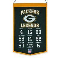 NFL Green Bay Packers Legends Banner