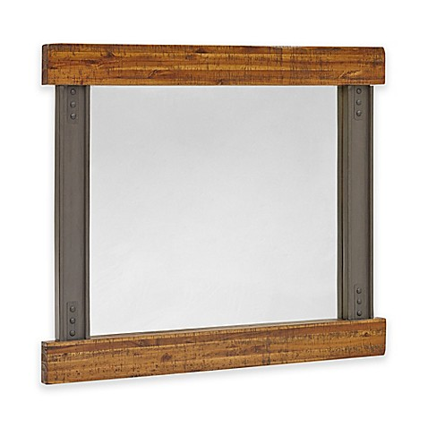 Ink ivy lancaster 42 inch x 36 inch wall mirror in for Mirror 42 x 36