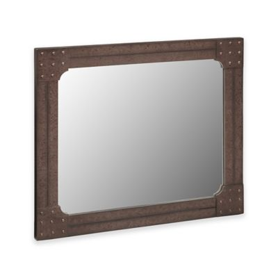 Buy grey wall mirrors from bed bath beyond for Mirror 42 x 36
