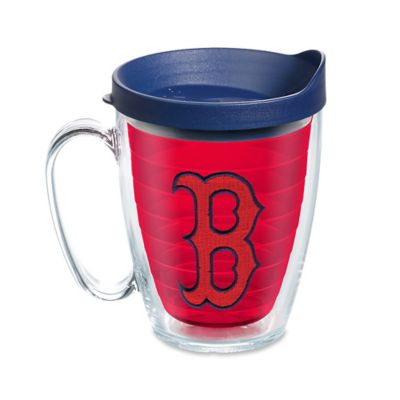 tervis tumbler red inner mlb boston red sox 16 oz mug with lid - Tervis Tumblers