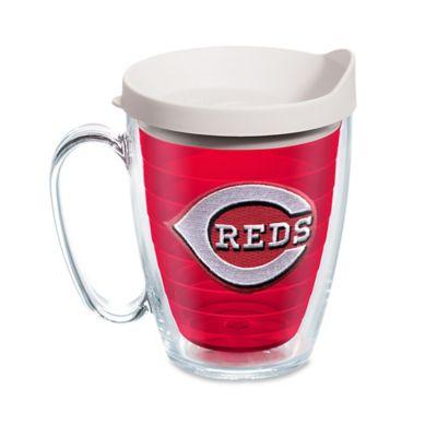 tervis tumbler red inner mlb cincinnati reds 16 oz mug with lid - Tervis Tumblers