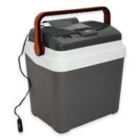 Koolatron Fun Cooler in Grey/White
