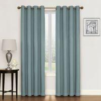 Morrison 108 Inch Grommet Top Room Darkening Window Curtain Panel In Aqua