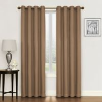 Morrison 95-Inch Grommet Top Room Darkening Window Curtain Panel in Mocha