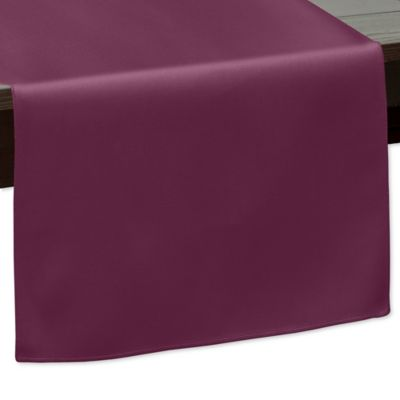 90 Inch Indoor/Outdoor Twill Table Runner In Burgundy