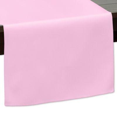108 Inch Indoor/Outdoor Twill Table Runner In Light Pink