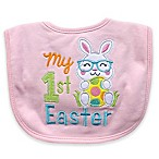 Hamco  My First Easter  Applique Bib in Pink