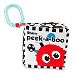 Sassy® Peek-A-Boo Book in Black/White