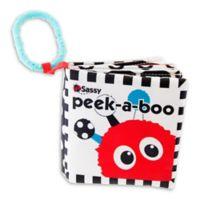Sassy® Peek-A-Boo Book in Black/White