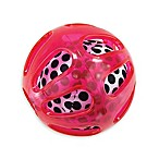 Sassy® Squish & Chime Ball in Black/White