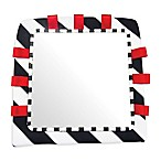 Sassy® Floor Mirror in Black/White