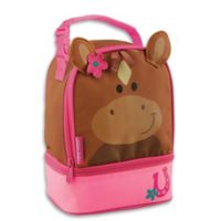 Stephen Joseph® Girl Horse Lunch Pals Bag in Brown