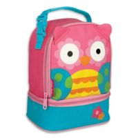 Stephen Joseph® Owl Lunch Pals Bag in Pink