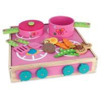 Stephen Joseph® Butterfly Wooden Play Cook Set