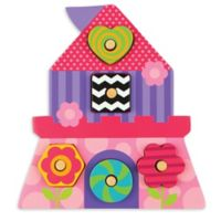 Stephen Joseph® Princess Shaped Wooden Peg Puzzle in Pink
