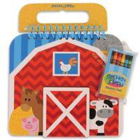 Stephen Joseph® Farm Sketch Pad in Red