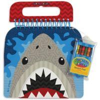 Stephen Joseph® Shark Sketch Pad in Grey