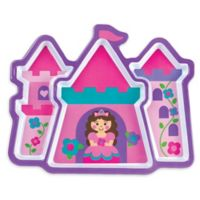 Stephen Joseph® Melamine Princess Tray in Pink