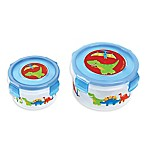Stephen Joseph® Dino Nesting Snack Containers in Blue (Set of 2)