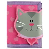 Stephen Joseph® Cat Wallet in Pink