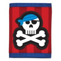 Stephen Joseph® Pirate Wallet in Red