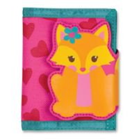 Stephen Joseph® Fox Wallet in Pink