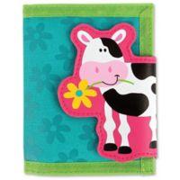 Stephen Joseph® Cow Wallet in Blue