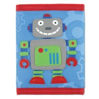 Stephen Joseph® Robot Wallet in Blue