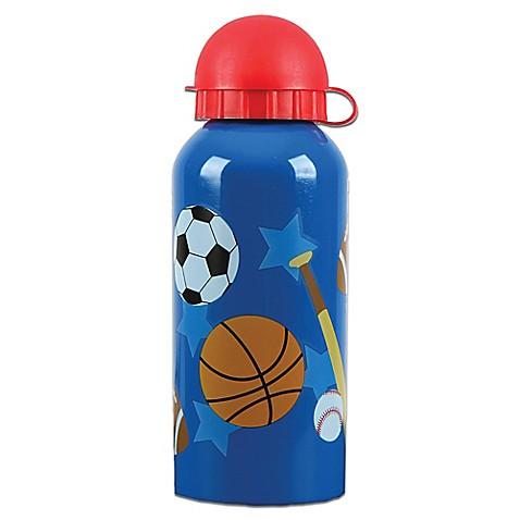 Stephen joseph 174 sports stainless steel water bottle in blue www
