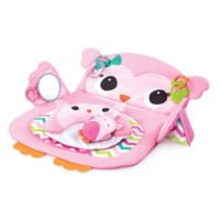 Kids II™ Prop & Play Tummy Time Owl Mat in Pink
