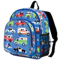Olive Kids Heroes Pack 'N Snack Backpack in Blue
