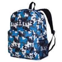 Wildkin Camo Crackerjack Backpack in Blue