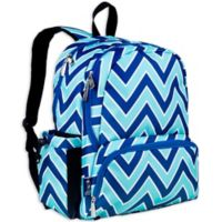 Wildkin Megapk Backpack in Lucite Zigzag Green