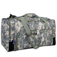 Wildkin Digital Camo Weekender Duffel Bag in Green