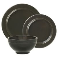 Emile Henry 3-Piece Place Setting in Charcoal