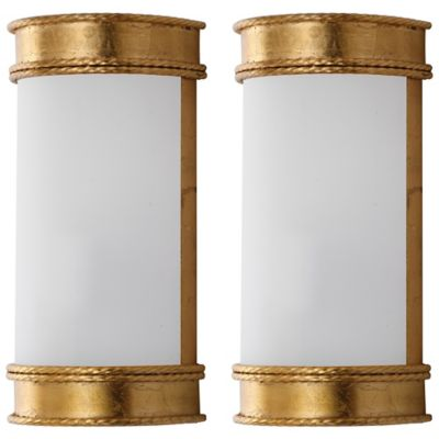 Wall Sconces Bed Bath And Beyond : Safavieh Florence Wall Sconces (Set of 2) - Bed Bath & Beyond